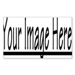 All Items - Custom Orders Rectangle Sticker 50 pk