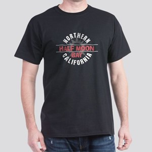 Half Moon Bay California Dark T-Shirt
