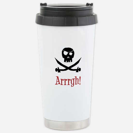 Pirate Stainless Steel Travel Mug