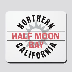 Half Moon Bay California Mousepad