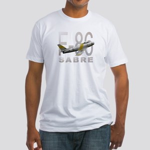 F-86 SABRE FIGHTER Fitted T-Shirt
