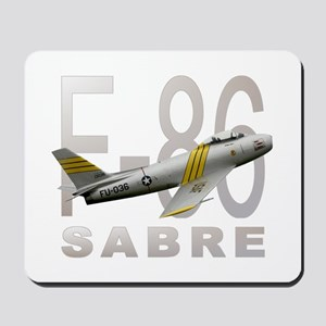 F-86 SABRE FIGHTER Mousepad