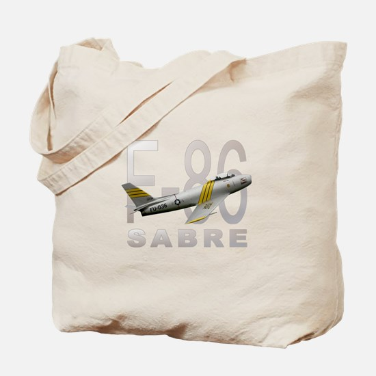 F-86 SABRE FIGHTER Tote Bag