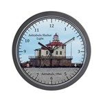 Ashtabula Harbor Light Wall Clock