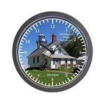 Old Mission Point Lighthouse Wall Clock