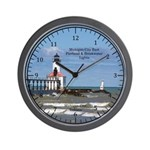 Michigan City East Pierhead & Wall Clock