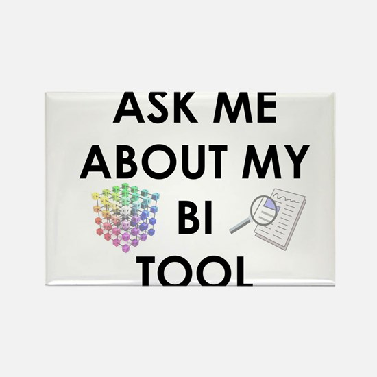 bi tool Rectangle Magnet