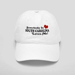 Somebody in South Carolina Loves Me Cap