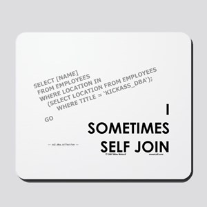 query - self joins Mousepad