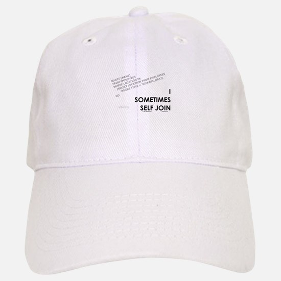 query - self joins Baseball Baseball Cap