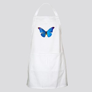 Blue Butterfly BBQ Apron
