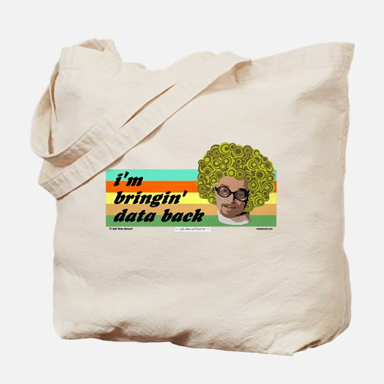 data back Tote Bag