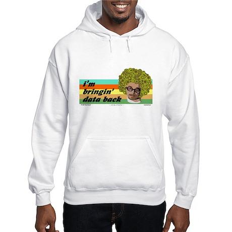 data back Hooded Sweatshirt