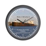 Walter J. Mccarthy Jr. Wall Clock
