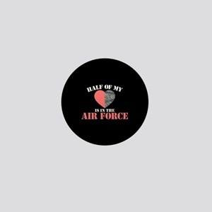 My Heart is in the Air Force Mini Button