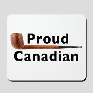 Canadian Pipe Shape Mousepad