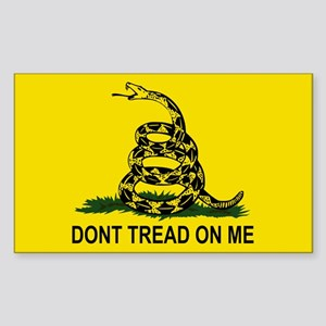 Gadsden Flag Sticker (Rectangle)
