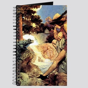 Maxfield Parrish Frog Prince Journal