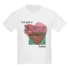 High Tech Ticker Kids T-Shirt