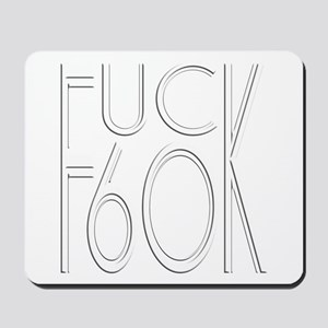 60th birthday gifts, 60 Mousepad