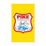 50 Pike Hotshots Stickers