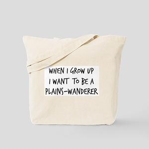 Grow up - Plains-Wanderer Tote Bag