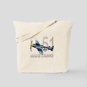 P-51 MUSTANG Tote Bag