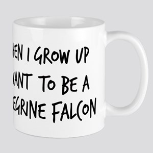 Grow up - Peregrine Falcon Mug