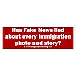 Immigration Liars Sticker (Bumper)