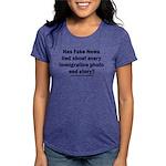 Immigration Liars Womens Tri-blend T-Shirt