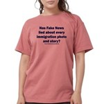 Immigration Liars Womens Comfort Colors® Shirt