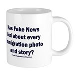 Immigration Liars 20 oz Ceramic Mega Mug