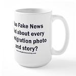 Immigration Liars 15 oz Ceramic Large Mug