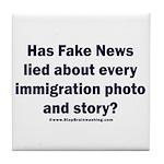Immigration Liars Tile Coaster