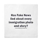 Immigration Liars Queen Duvet