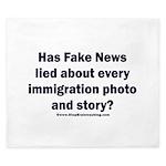 Immigration Liars King Duvet