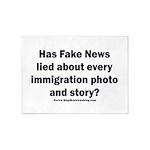 Immigration Liars 5'x7'Area Rug