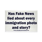 Immigration Liars Rectangle Magnet