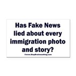 Immigration Liars Rectangle Car Magnet