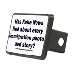 Immigration Liars Rectangular Hitch Cover