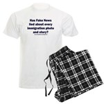 Immigration Liars Men's Light Pajamas