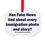 Immigration Liars Picture Ornament