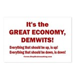 It's the GREAT ECONOMY, D Postcards (Package of 8)