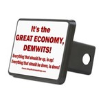 It's the GREAT ECONOMY, De Rectangular Hitch Cover