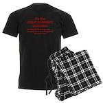 It's the GREAT ECONOMY, Demwit Men's Dark Pajamas
