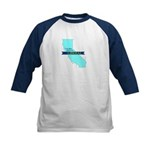 Kids Baseball Jersey| True Blue California LIBERAL