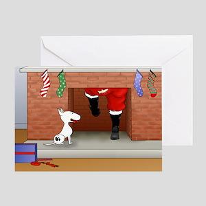Nothin' Butt A Bull Terrier Greeting Card