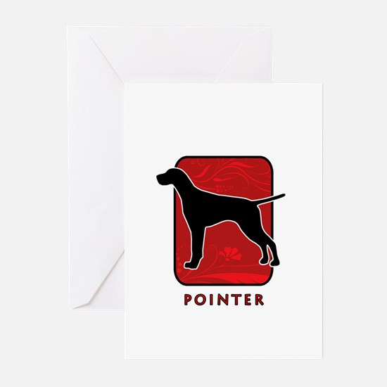 Pointer Greeting Cards (Pk of 10)