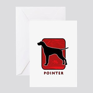 Pointer Greeting Card