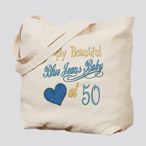 Blue Jeans 50th Tote Bag